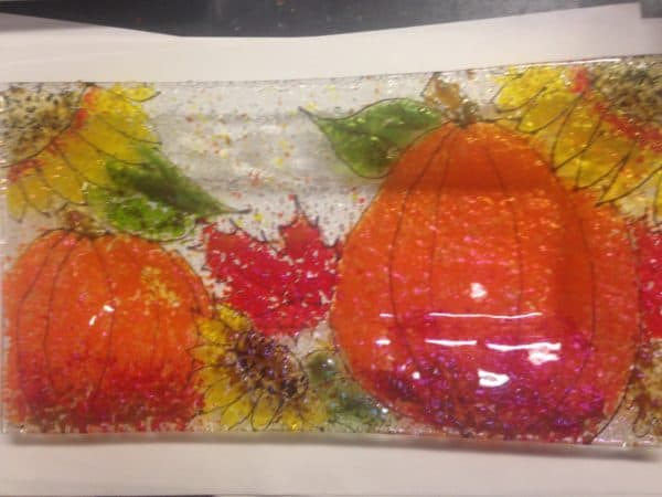 fall cookie tray